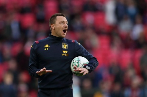 John Terry staying at Aston Villa says boss Dean Smith