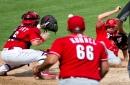 Cincinnati Reds scrimmage, July 12