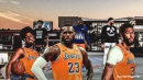 Video: Lakers' LeBron James, Anthony Davis tried to stream NBA 2K with Quinn Cook and it was an epic fail