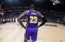 LeBron James opts to not wear social justice message on the back of his jersey