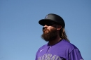 With a clean bill of health, Charlie Blackmon arrives at Summer Camp