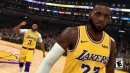 Lakers Video: LeBron James, Anthony Davis & Quinn Cook Cause Stir On NBA 2K20