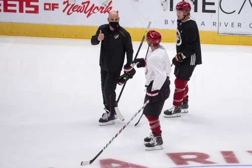 Can Coyotes find consistency in their power play before play in games?