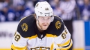 Bruins' Pastrnak, Kase miss practice, ruled unfit to play