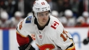 Flames, Johnny Gaudreau shrugging off speculation during unorthodox camp
