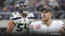 49ers' George Kittle, Seahawks' Bobby Wagner have hilarious exchange on Twitter