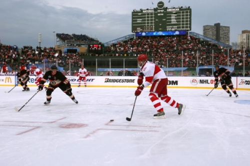 Today in Hockey History: Chicago Blackhawks, Detroit Red Wings Set for 2009 Winter Classic