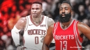 Rockets' James Harden sounds crazy excited about Russell Westbrook's early returns in practice