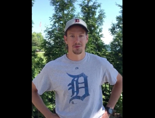 Detroit Red Wings have a message for the Detroit Tigers (VIDEO)