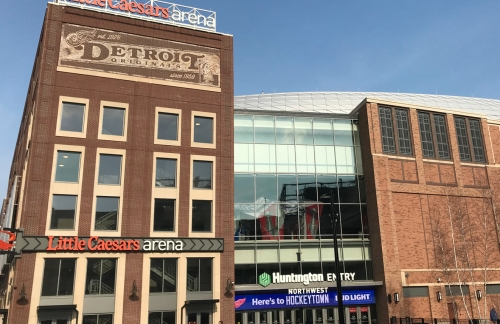Little Caesars Arena honors the late great Al Kaline ahead of Tigers home opener