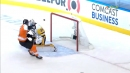 Scott Laughton scores OT winner off a sweet sauce from Travis Konecny