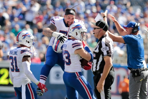 Bills may have lost starting RG Jon Feliciano for the season due to torn pectoral