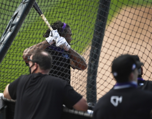 Matt Kemp makes strong first impression in Rockies uniform at Coors Field with pinch-hit double