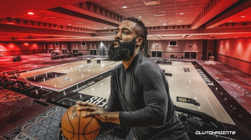 James Harden had his secret bubble workout revealed during post-game interview