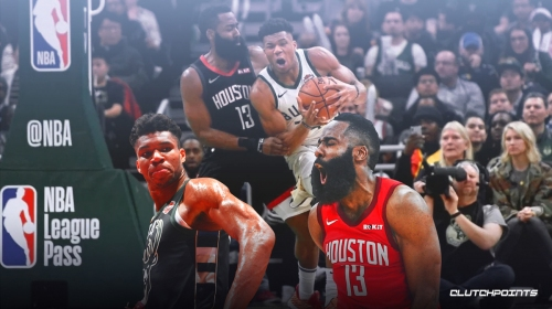 VIDEO: James Harden shuts down Giannis Antetokounmpo as Rockets beats Bucks with defense
