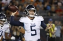 Challenging road has QB eager to back up Titans' Tannehill