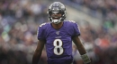 Lamar Jackson 'tired of going home' in the playoffs
