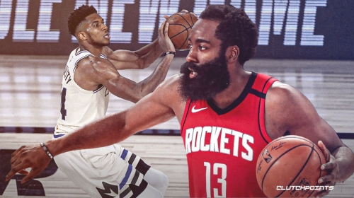 Rockets' James Harden sends strong message to critics after stopping Giannis Antetokounmpo