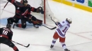 Artemi Panarin ties Hurricanes with power play goal for Rangers