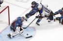 Blues, not unexpectedly, taking their time getting up to speed