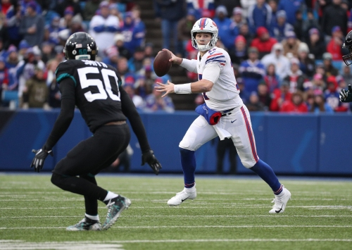 Bills QB Josh Allen excited to be with a 'bunch of dudes who love football' as camp starts