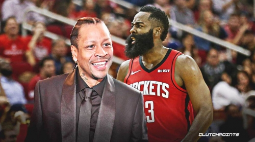 Allen Iverson reveals why he's collaborating with Rockets star James Harden on signature shoe