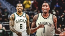 Jamal Crawford, Eric Bledsoe making bubble debuts in Nets-Bucks