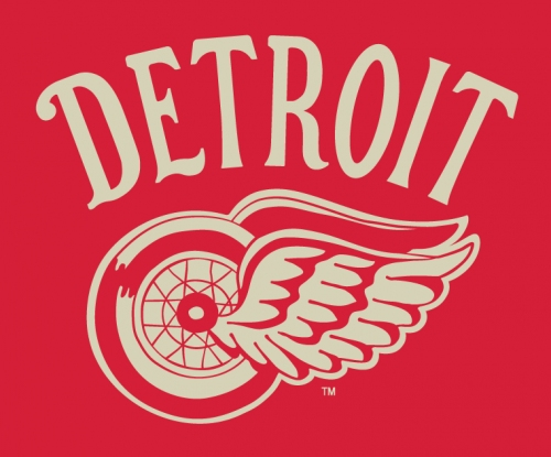 Detroit Red Wings third jersey redesign includes workmark from Winter Classic [Photo]