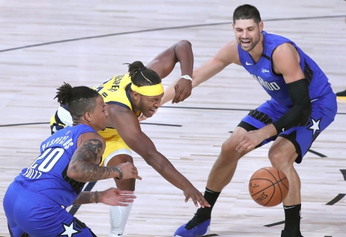 Magic win streak ends with double-digit loss to Pacers