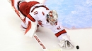 Hurricanes' James Reimer 'incredible' in first playoff start in 7 years