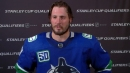 J.T. Miller missing his daughters after great performance for Canucks in Game 2