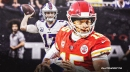 Patrick Mahomes, Josh Allen are setting up distance throwing contest