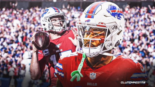 Bills' Stefon Diggs gushes about his new QB in Josh Allen: 'plays with a lot of heart'
