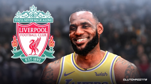 LeBron James shows off new Liverpool kit ahead of game vs. Thunder