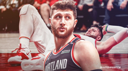 Jusuf Nurkic responds to Thunder fan who tweeted his gruesome injury