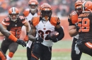 Former Bengals running back Jeremy Hill cut by Las Vegas Raiders