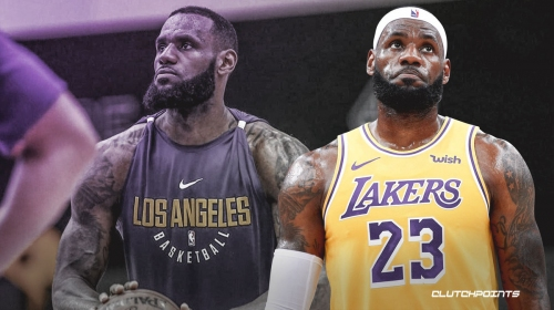 LeBron James gives cryptic answer about Lakers' offensive woes