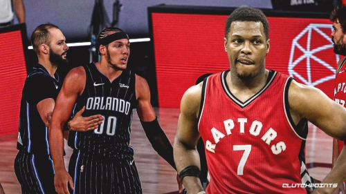 Kyle Lowry dares Aaron Gordon to meet him at his room after scuffle
