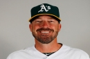 Oakland A's coach Ryan Christenson apologizes for making what looked like a Nazi salute