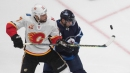 Milan Lucic helps Flames fight through series win against Jets