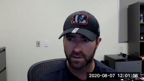Bengals Offensive Coordinator Brian Callahan talks about Joe Burrow and more