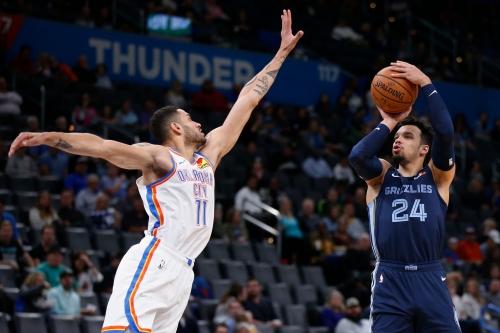 Grizzlies vs. Oklahoma City Thunder: TV info, live game score, updates