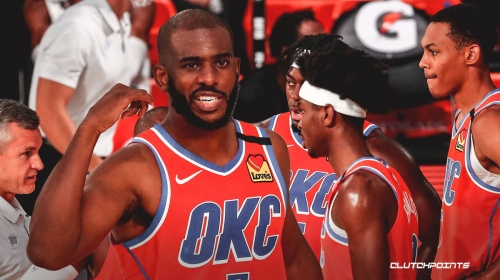The reason Thunder have been 'totally different team' for bubble games, per Chris Paul