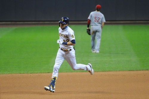Brewers dominated by Reds in 8-3 loss