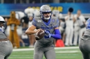 Brady White praises Memphis offense's timing on first day of fall practice