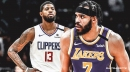 Clippers' Paul George, Lakers' JaVale McGee wears shirts calling for justice for Breonna Taylor