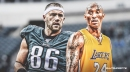 Zach Ertz reveals his goal with Eagles is to be like Kobe Bryant
