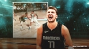 Mavs star Luka Doncic offers simple explanation for between-the-legs pass