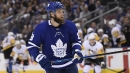 Maple Leafs defenceman Jake Muzzin skates for first time since injury