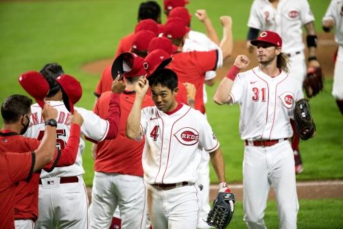 Slumping Shogo Akiyama still adjusting to his role with Cincinnati Reds